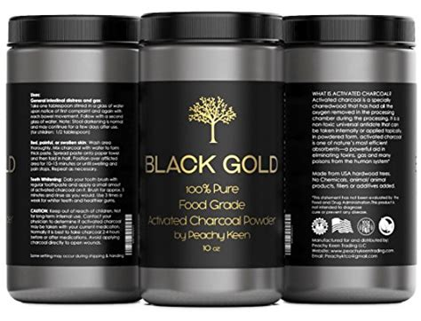 Food Grade Charcoal For Heavy Metal Detox by Activated Charcoal Powder Large Jar Food Grade For