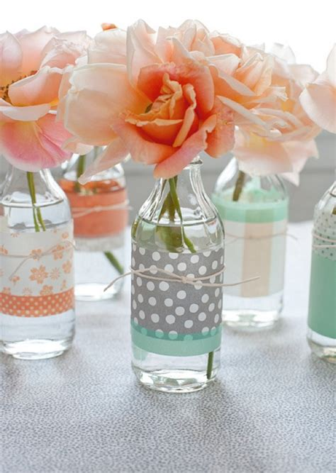 washi vase and jar decor