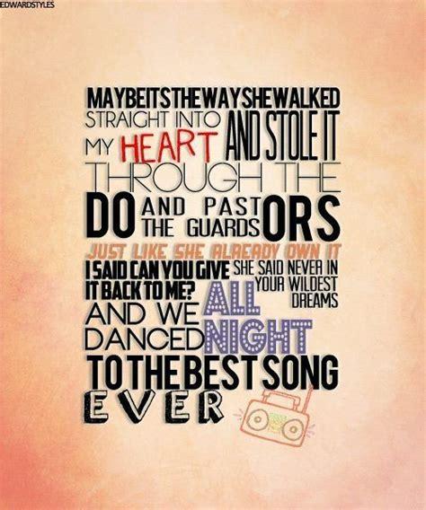 best song one direction one direction best song lyrics quotes and lyrics