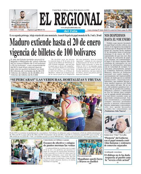 regional del zulia 2016 calam 233 o el regional del zulia 30 12 2016
