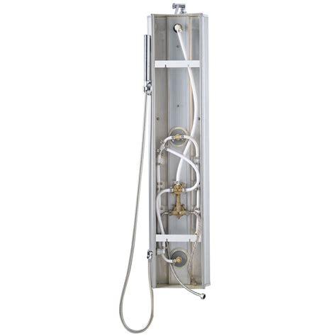 Faucet Manufacturer 46 Quot Aluminum Bathroom Shower Panel Thermostatic Tower W