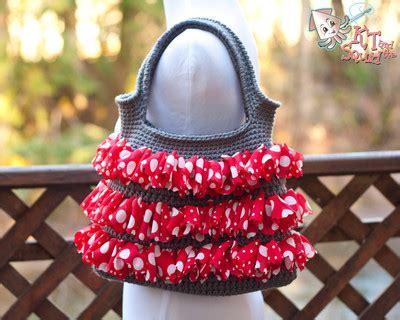 crochet ruffle bag pattern 16 crochet ruffle patterns favecrafts com