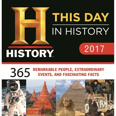 day history this day in history desk calendar 9781492634263
