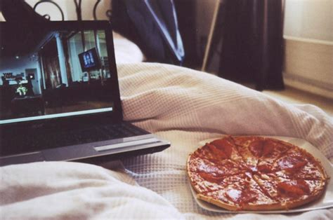 Food In The Bedroom by Up That Queue Why Netflix Is Better Than A Boyfriend