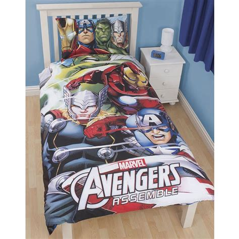 avengers bed official avengers marvel comics bedding bedroom