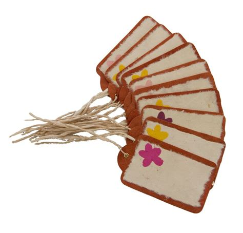 handmade gift tags brown anglesey paper company