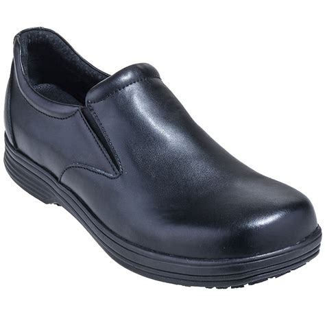 laforst shoes men s 8402 non slip casual slip on black