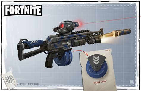 ArtStation   Fortnite Gun Concepts, Drew Hill   Fortnite