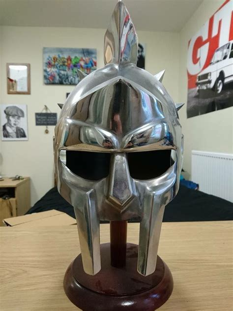 gladiator film helmet gladiator helmet