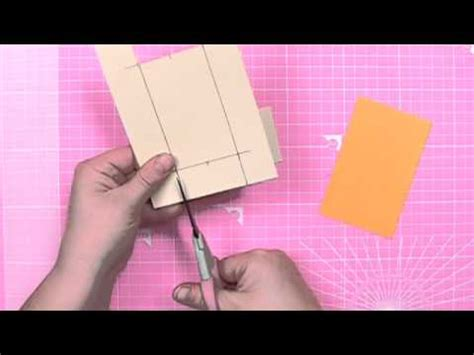 youtube carding tutorial how to make a push n pull card cardmaking tutorial