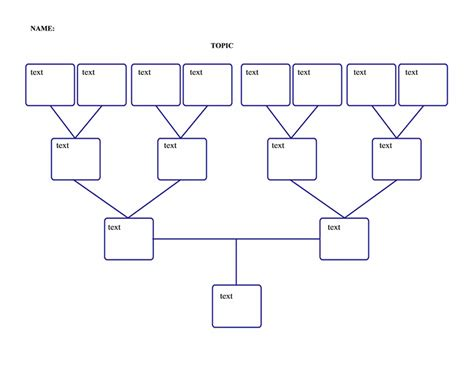 genogram template microsoft word templates