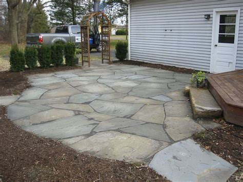 backyard stone ideas 25 best ideas about stone patios on pinterest stone