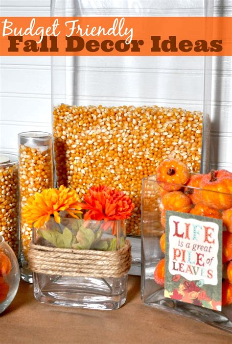 decorate for fall on a budget budget friendly fall decor ideas the nerds