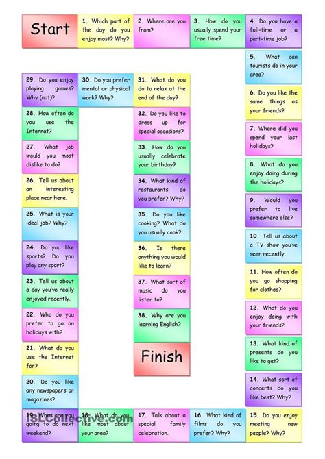 colors what color do you like english speaking best 25 speaking games ideas on pinterest english for