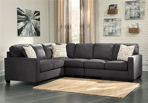 Charcoal Sectional Sofa Alenya Charcoal 3pc Laf Sofa Sectional Overstock Warehouse