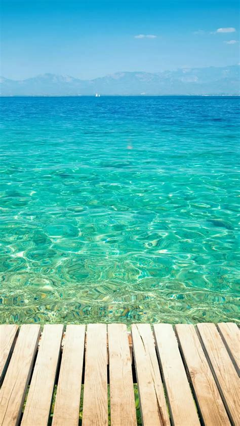 wallpaper for iphone 6 summer clear tropical ocean water lockscreen iphone 5s