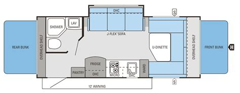slide in cer floor plans 2014 jay feather slx floorplans prices jayco inc
