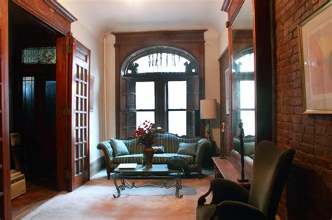 brownstone interior modern meets traditional at a harlem brownstone