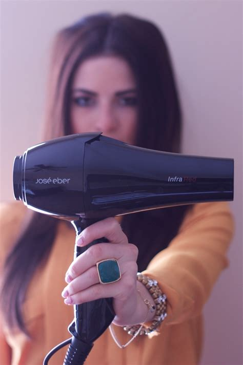 Jose Eber Hair Dryer parcell what a creative way to show the jose eber infrared dryer