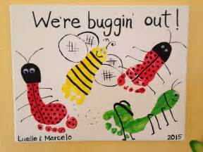 buggin out buggin out footprint art by tala cbell minibeasts