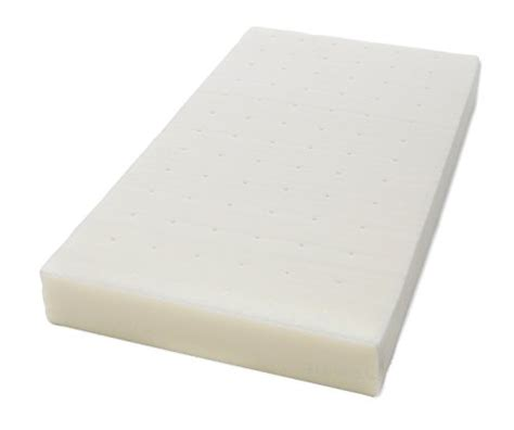 Crib Mattress Memory Foam Topper Milliard 2 Inch Ventilated Memory Foam Crib Toddler Bed Mattress Topper With Rem Ebay