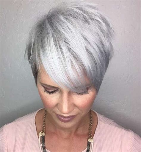 short gray hairstyles with wedge in back short gray hairstyles with wedge in back jamie lee