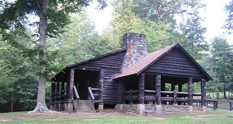 Donley Cabin National Forest by Cabin Cing Prince William Forest Park U S