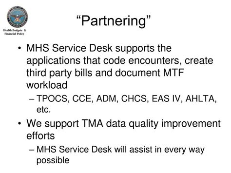Mhs Help Desk by Ppt Mhs Service Desk Overview Powerpoint Presentation