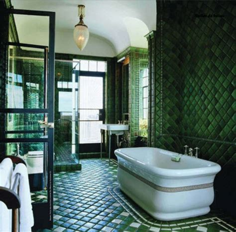 green tile bathroom ideas 40 dark green bathroom tile ideas and pictures