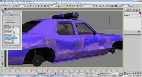 Ripped Model R3 by 3dsmax Wip Driver San Francisco Vehicle Importer Tools