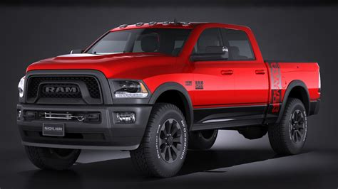 how to ram model dodge ram 2500 3d model