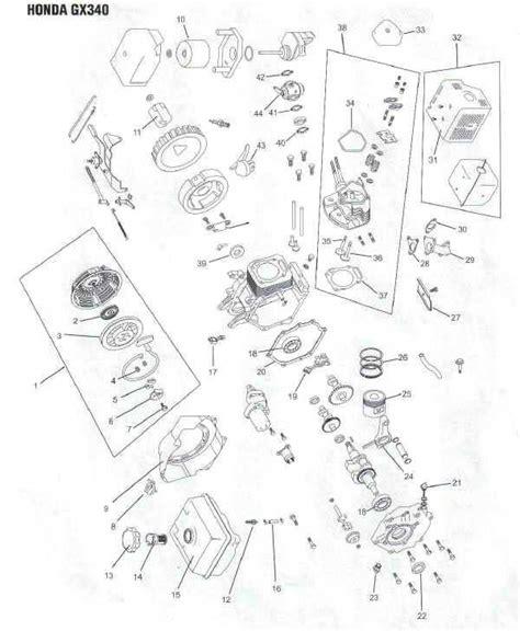 honda small engine illustrated service manual by cycle soft issuu honda gx340 engine parts diagram lawnmower pros