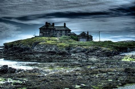 haunted house   hill trearddur bay craig  mor