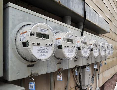 Apartment Building Electricity Meter Smart Meters Pose No Health Risk Maine Regulators Say