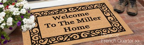 Personalized Doormats Company by Increase Referrals Using The Personalized Doormats Company