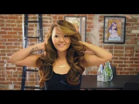 Big Curls With Hair Dryer big s secret hair tutorial brush with pin curls