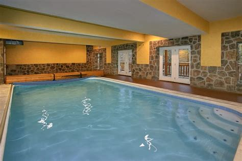 Cabin Rentals In Gatlinburg With Indoor Pool by Luxury Cabin In The Smoky Mountains Indoor Pool Lodge