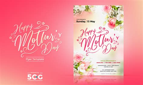 Free Mothers Day Flyer Template 2018 Ad Template 2018
