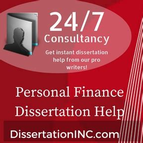 finance dissertation personal finance dissertation help thesis writing service