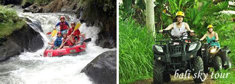 bali rafting  atv ride packages ayung river rafting