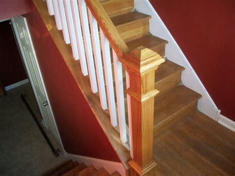 Wooden Stair Banisters Wood Railing Kits Stairs Design Ideas