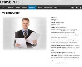 Personal Website Resume Exles by Professional Website Exles Thebridgesummit Co