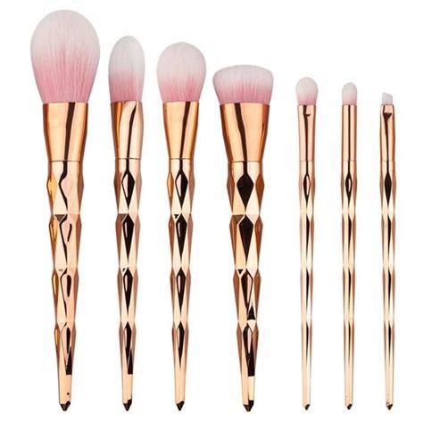 Unicorn Makeup Brush Set 7pcs Eye Makeup Kuas Makeup unicorn horn makeup brushes makeup brushes sparkle warehouse