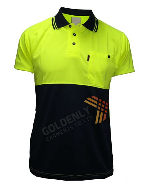 Buys Safer Shirt by Sell High Quality Hi Vis Safety Polo Shirt Design For