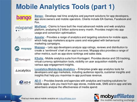 analytics for mobile guide to mobile analytics