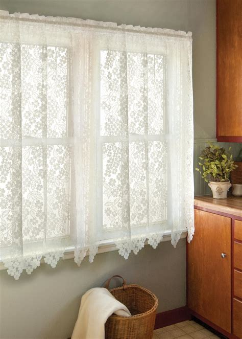 dogwood curtains  heritage lace