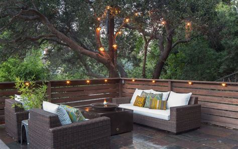 string lights for deck deck lighting ideas that bring out the of the space