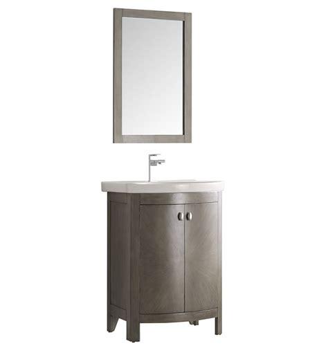 Fresca Fvn2301sa Cmb Greenwich 25 Quot Antique Silver Silver Bathroom Vanities