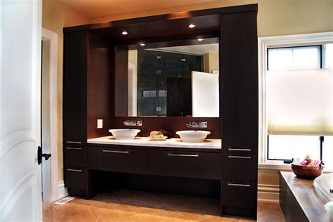 contemporary bathroom cabinets gallery of custom cabinetry toronto mississauga
