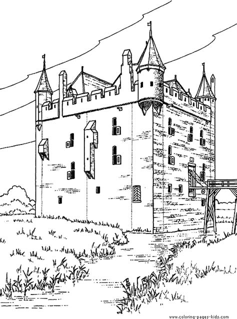 medieval castle coloring page free castle coloring pages wood burning art copic